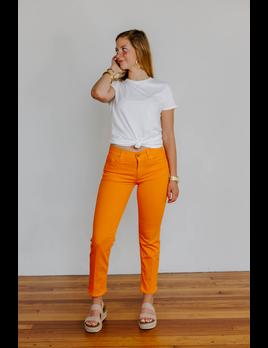 Hudson Midrise Cigarette Jean in Blossom