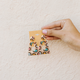 Paved Trapezoid Earrings