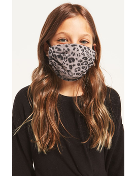Z Supply Kids Leopard Reusable Face Mask - 2 Pack
