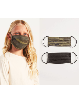 Z Supply Kids Camo Reusable Face Mask - 2 Pack