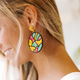 Abstract Bead Earrings