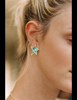 Shell Star Earrings