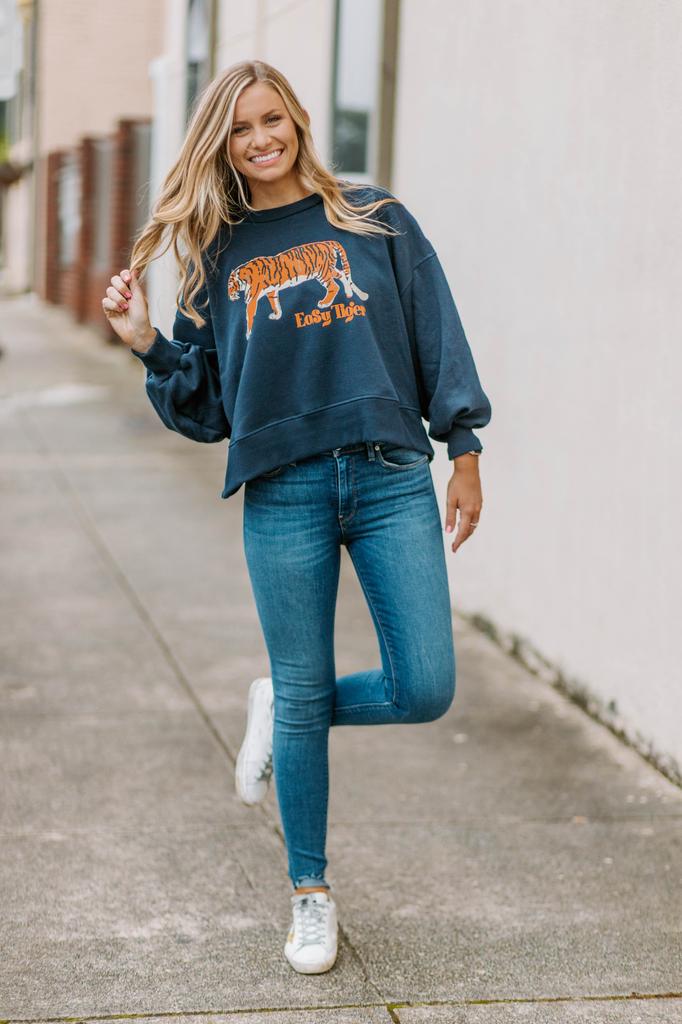 Easy Tiger Cropped Sweatshirt