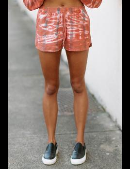Tie Dye Knit Shorts