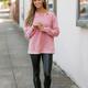 Mineral Washed Casual Sweatshirt