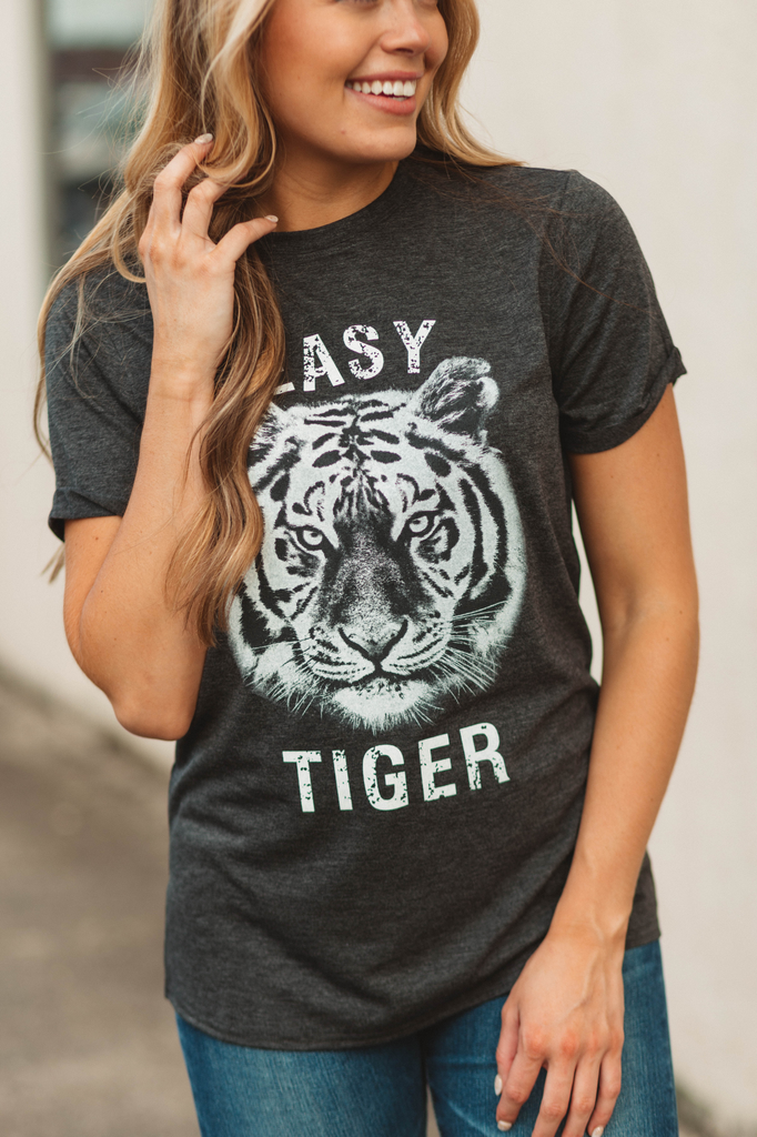 Easy Tiger Printed Casual Top