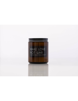 Make Love Not War Candle