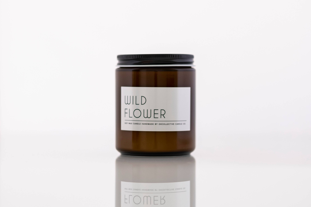 Wild Flower Candle