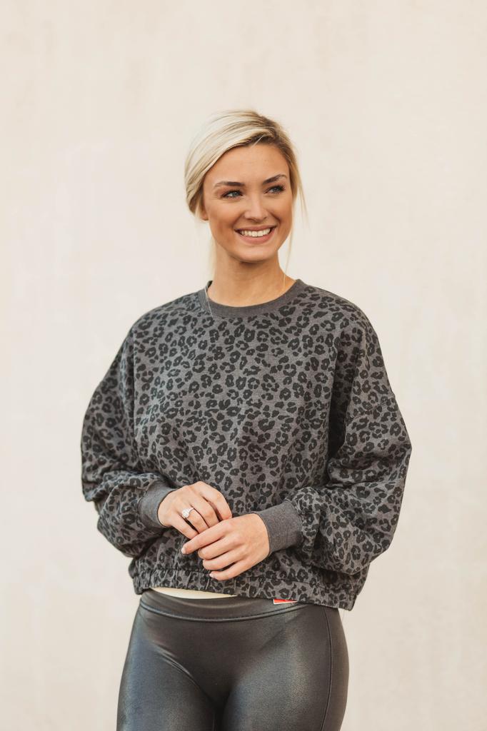 Z Supply Mason Leopard Pullover