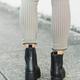 Chinese Laundry Margo Black Platform Ankle Boots
