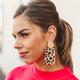 Beverly Rectangle Animal Print Earring