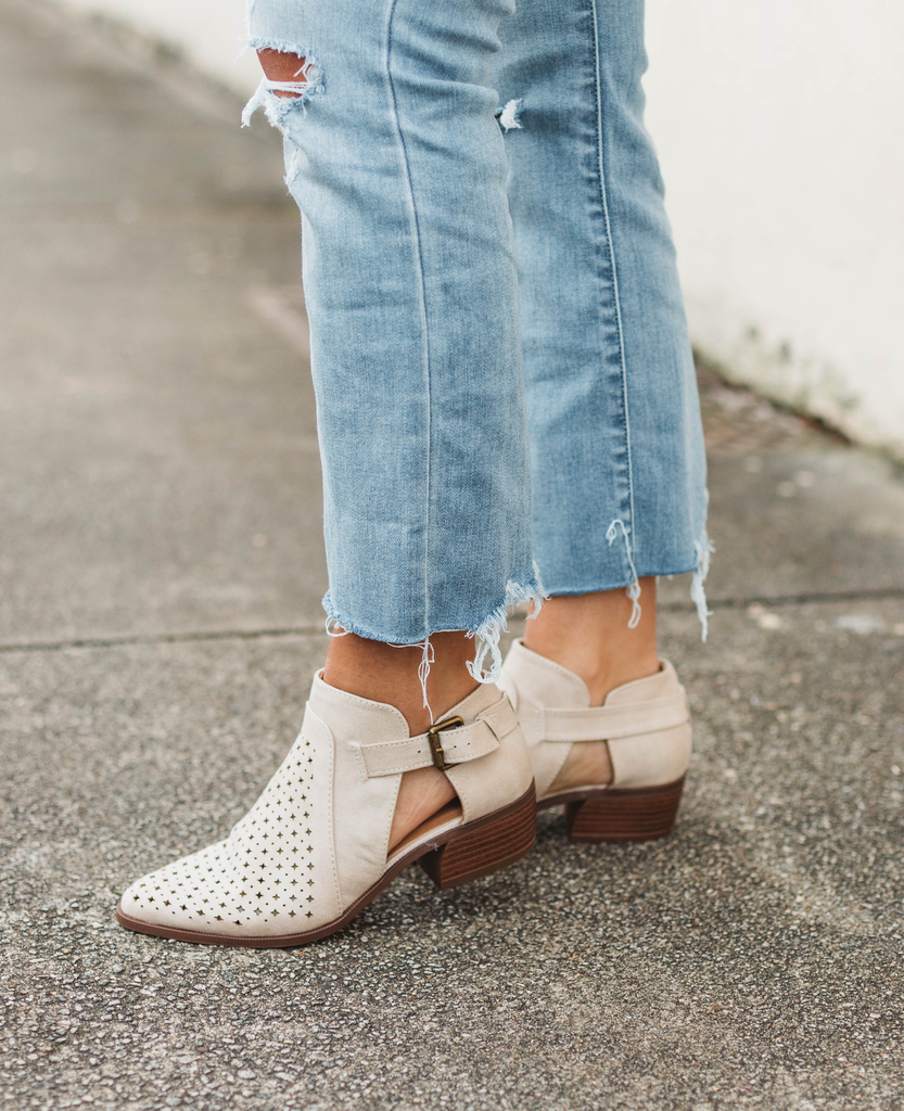 Rager-03 Perforated Bootie