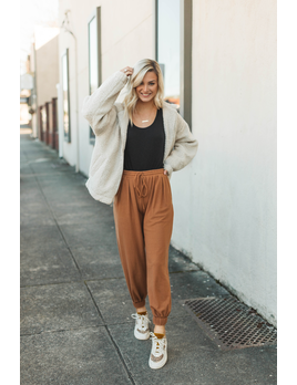Glam Drawstring Jogger Pants