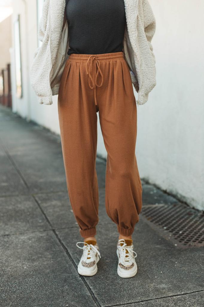 Glam Drawstring Jogger Pants