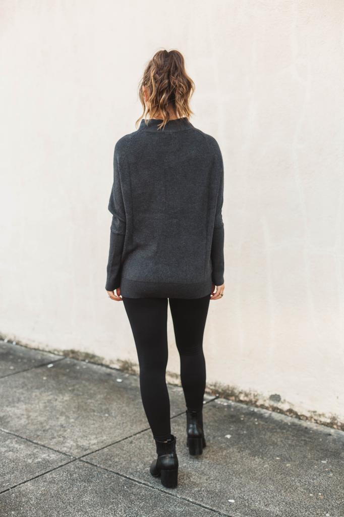 Slouch Neck Dolman Sweater
