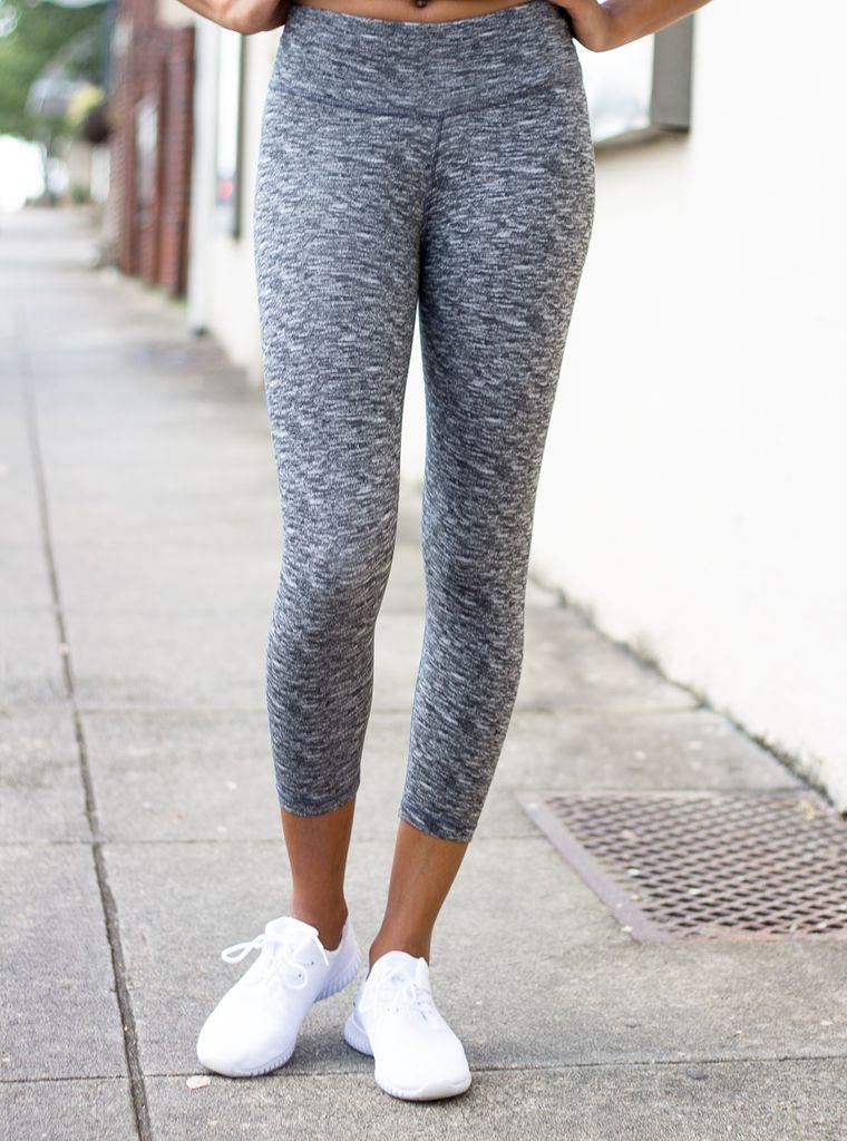 NOLA Crop Legging - Print
