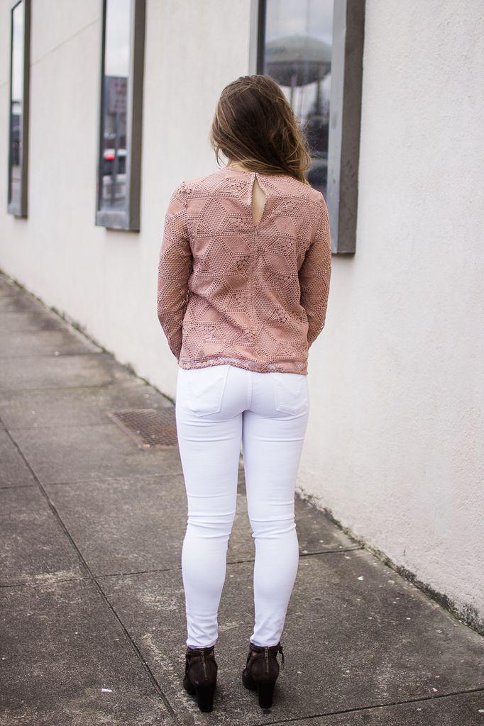 Karlie Lace Vintage Top