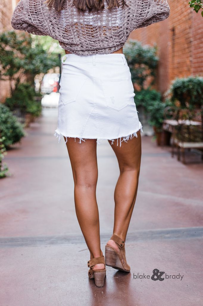 Karlie Denim Skirt