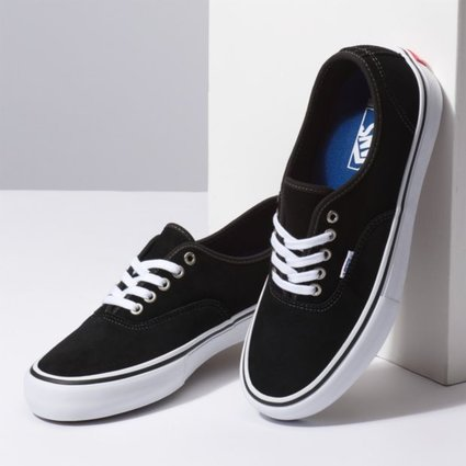 Vans * Vans Authentic Pro Black Suede Shoes