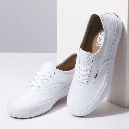 Vans Authentic Pro True White Shoes - Gordy s Bicycles 6312e0d0a295