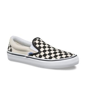 Vans Vans Slip-On Pro Black/White Checkerboard Shoes