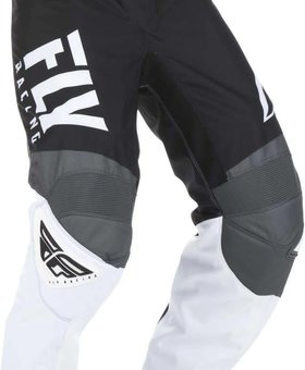 Fly Racing 2019 Fly Racing F-16 Adult Black/White/Grey Pants