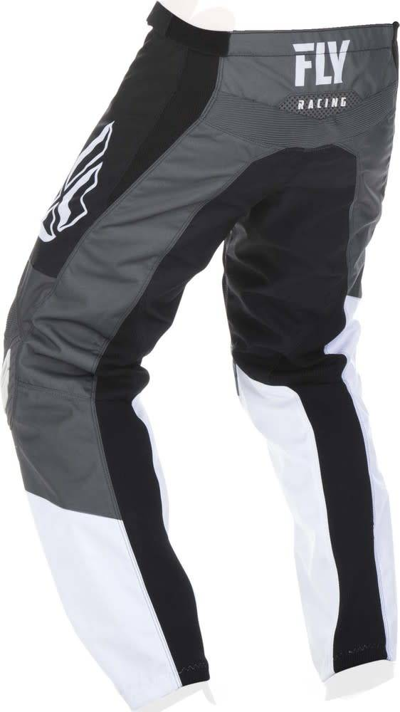 Fly Racing 2019 Fly Racing F-16 Youth Black/White/Grey Pants