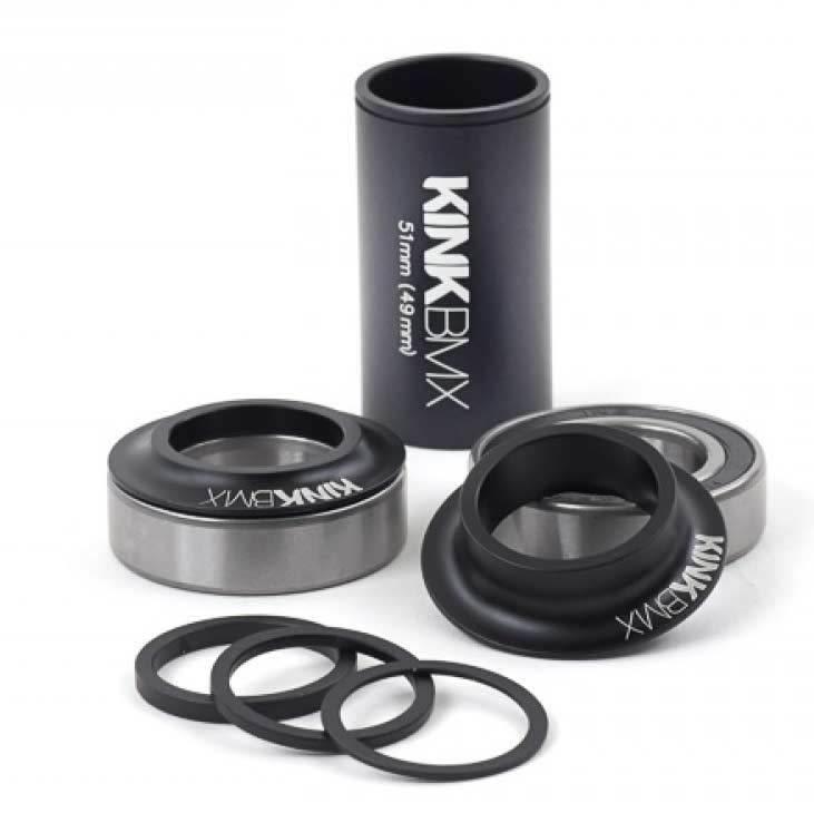 Kink Kink Bottom Bracket 24mm Mid Kit Black