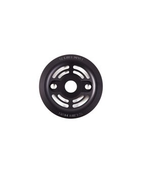 S&M S&M Drain Man 25T Matte Black Guard Sprocket