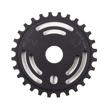 S&M S&M Drain Man 25T Matte Black Sprocket