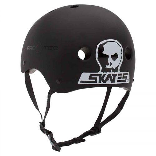 Pro-Tec Pro-tec Classic (Certified) Black Skull Helmet