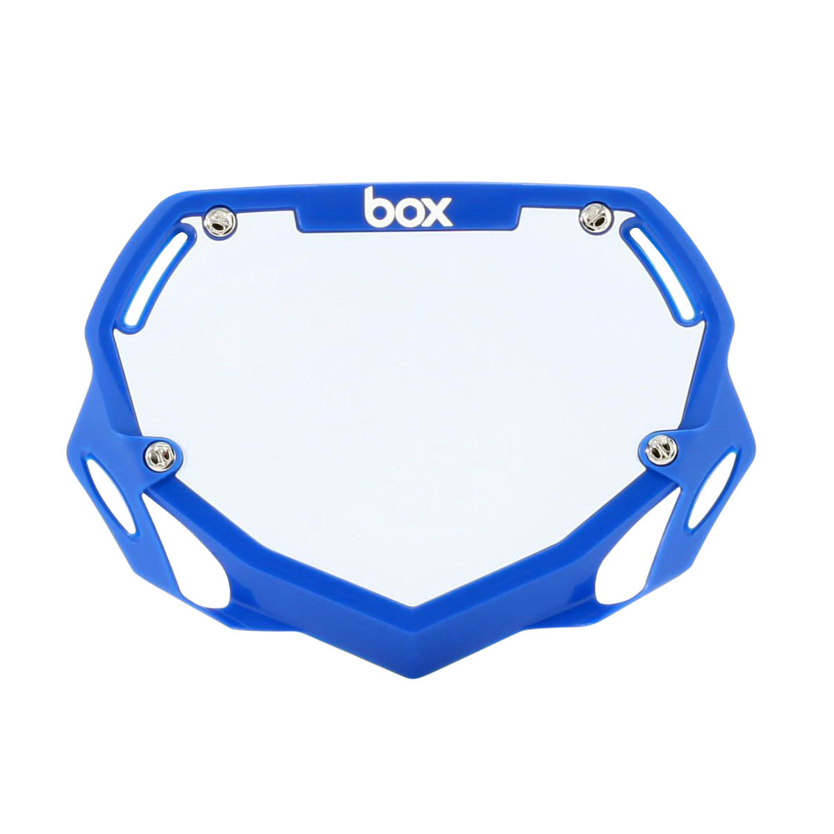 Box Components Box Phase 2 Mini Blue Number Plate
