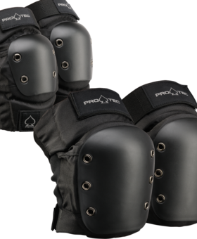 Pro-Tec Pro-tec Street Knee/Elbow Black Pad Set