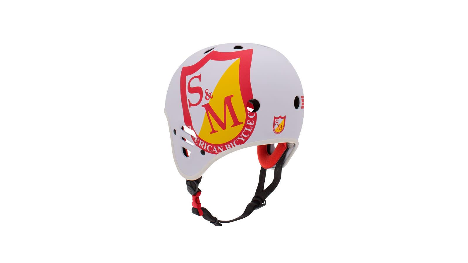 Pro-Tec S&M Fullcut (Certified) Matte White Helmet