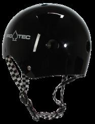 Pro-Tec Pro-tec Classic (Certified) Black Checker Helmet