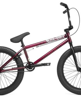 "Kink 2020 Kink Curb 20"" Gloss Smoked Red Bike"