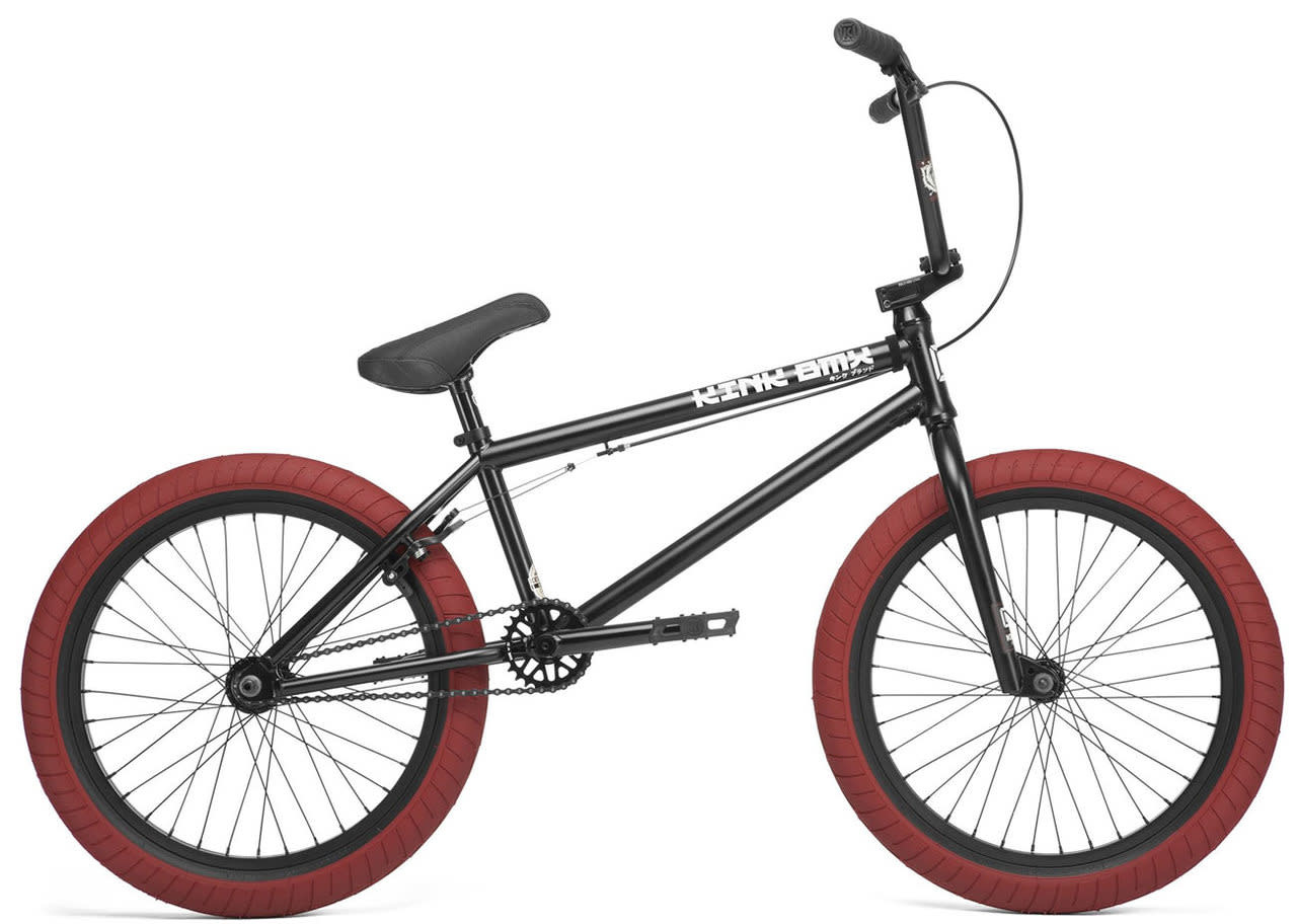 "Kink 2020 Kink Gap Freecoaster 20.5"" Matte Black Bike"