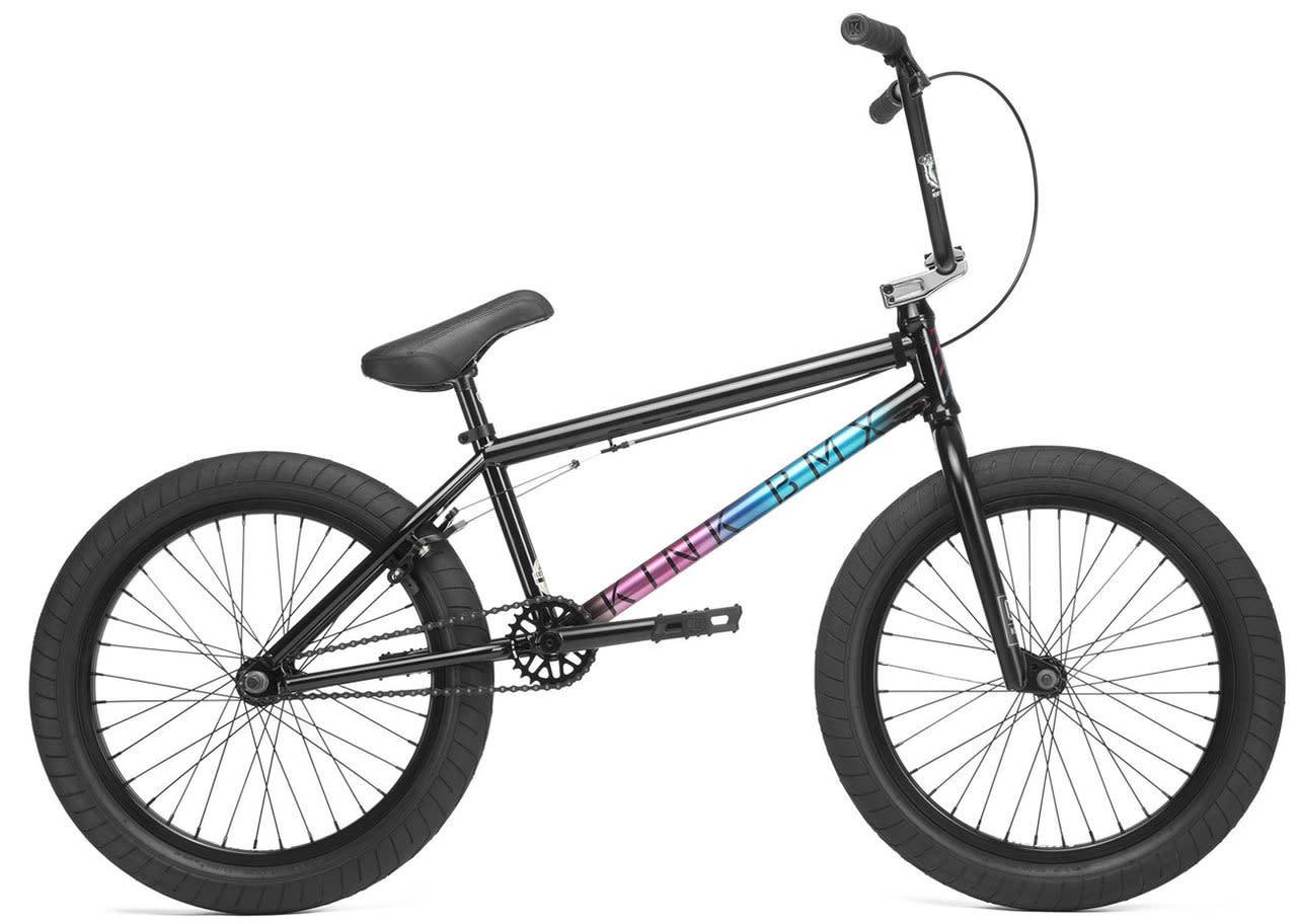 """Kink 2020 Kink Whip 20.5"""" Gloss Black Fade Bike"""