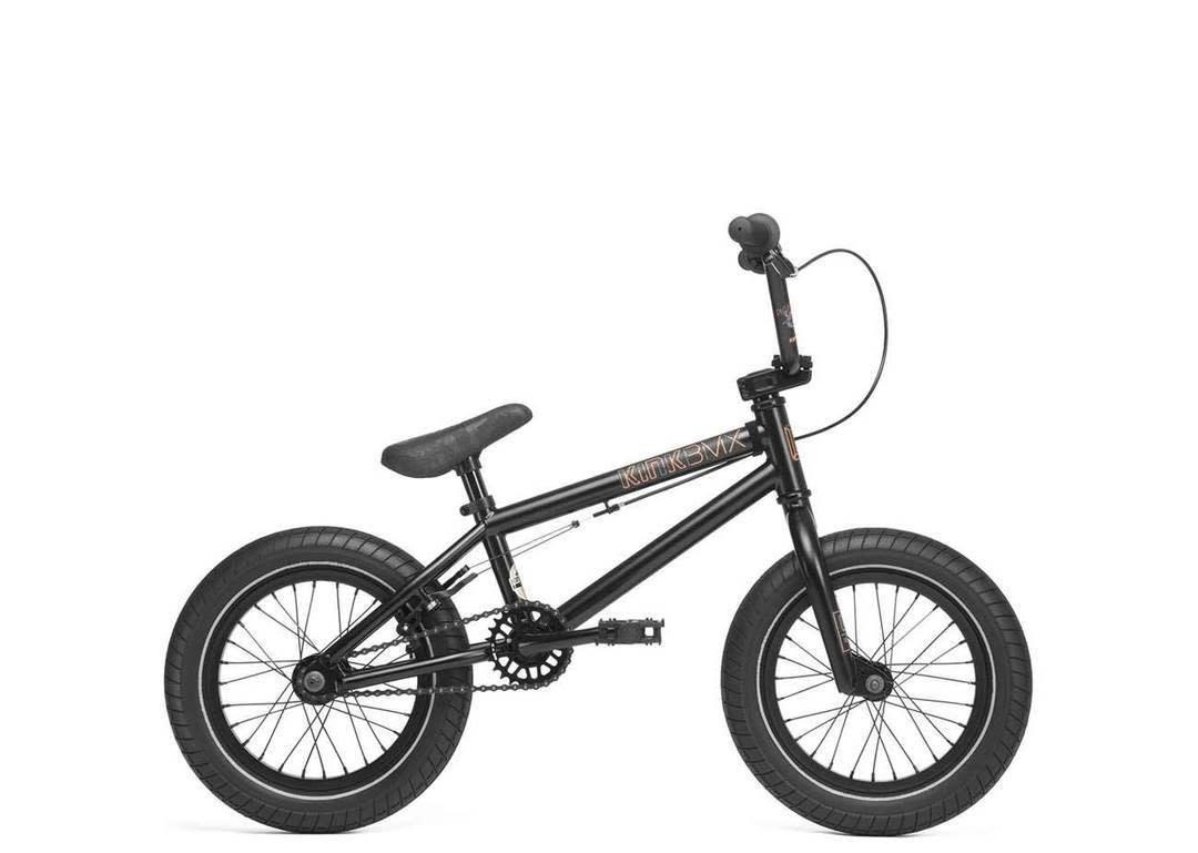 "Kink 2020 Kink Pump 14"" Matte Black Bike"