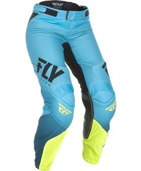 Fly Racing Fly Racing Lite Race Women Blue/Hi-Vis Size 22 Pant