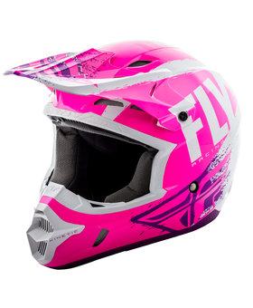 Fly Racing Fly Racing Kinetic Burnish Pink XSmall Helmet