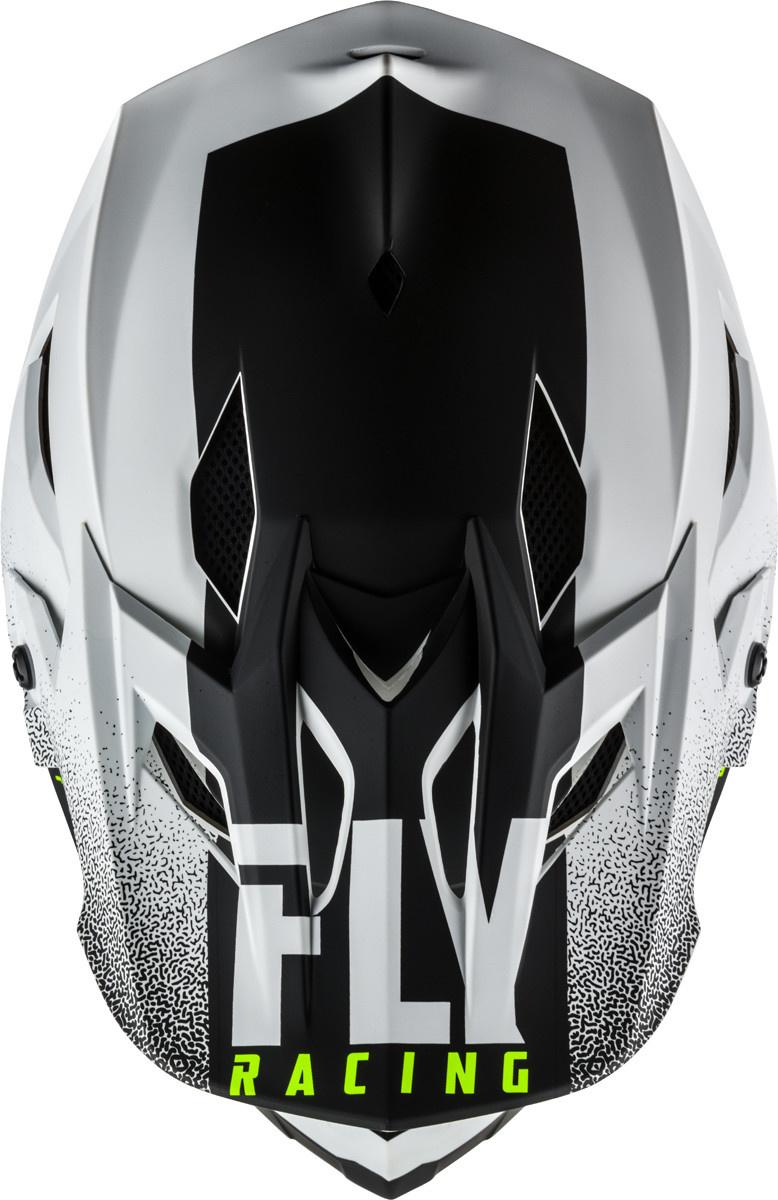 Fly Racing 2020 Fly Racing Default Matte White/Black Helmet