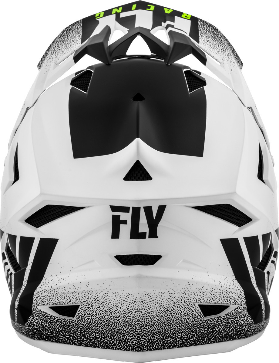Fly Racing Fly Racing Default Matte White/Black Helmet