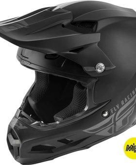 Fly Racing 2019 Fly Racing F2 Carbon MIPS Matte Black Large Helmet