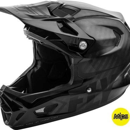 Fly Racing 2019 Fly Racing Werx Mips Imprint Black Carbon Med Helmet