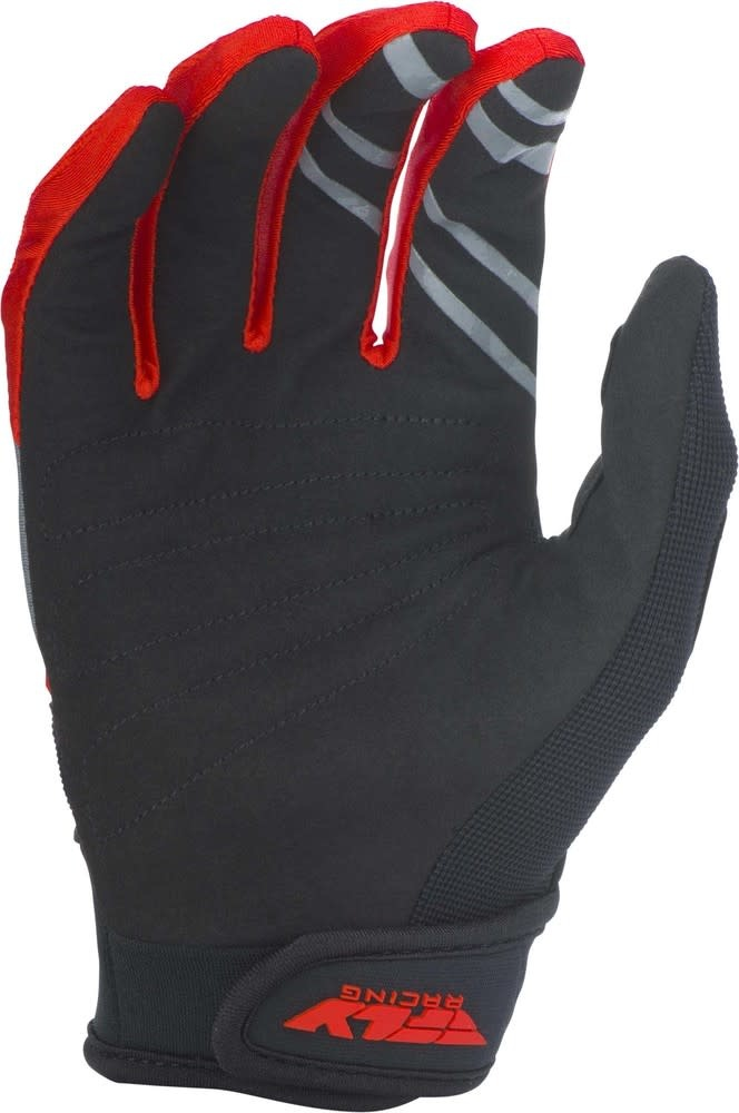Fly Racing 2019 Fly Racing F-16 Adult Red/Black/Grey Gloves