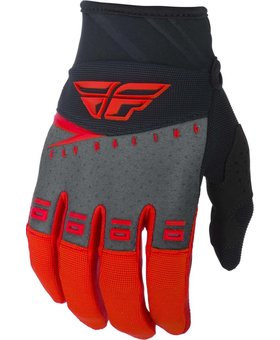 Fly Racing 2019 Fly Racing F-16 Youth Red/Black/Grey Gloves