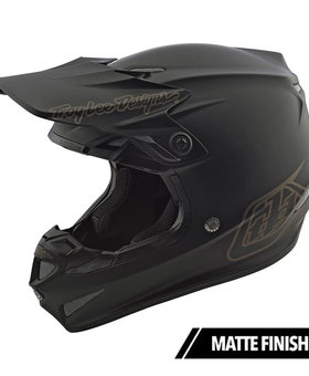 Troy Lee Designs Troy Lee SE4 Polyacrylite Mono Black Large Helmet