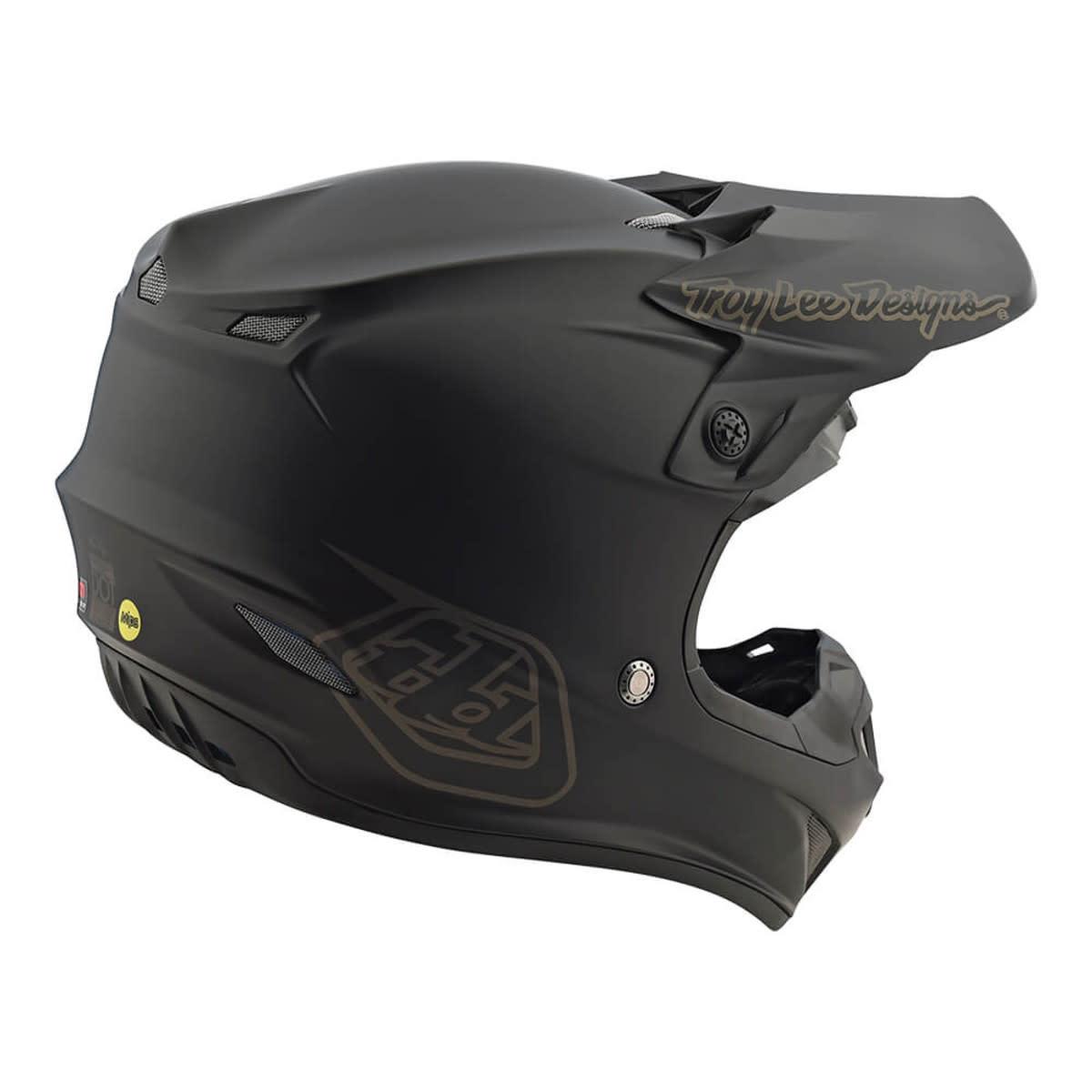 Troy Lee Designs Troy Lee SE4 Polyacrylite Mono Black Large Helmet