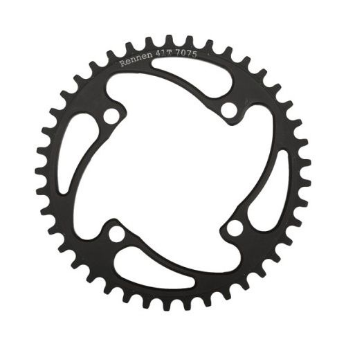 Rennen Rennen 4-Bolt Threaded 35T Black Chainring